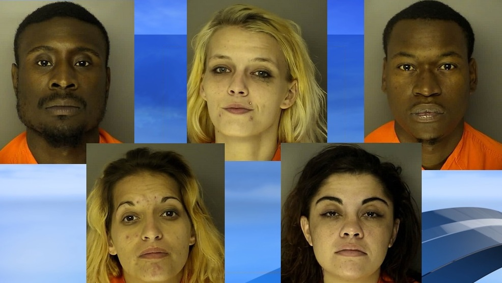 Five arrested after search at Myrtle Beach motel reveals