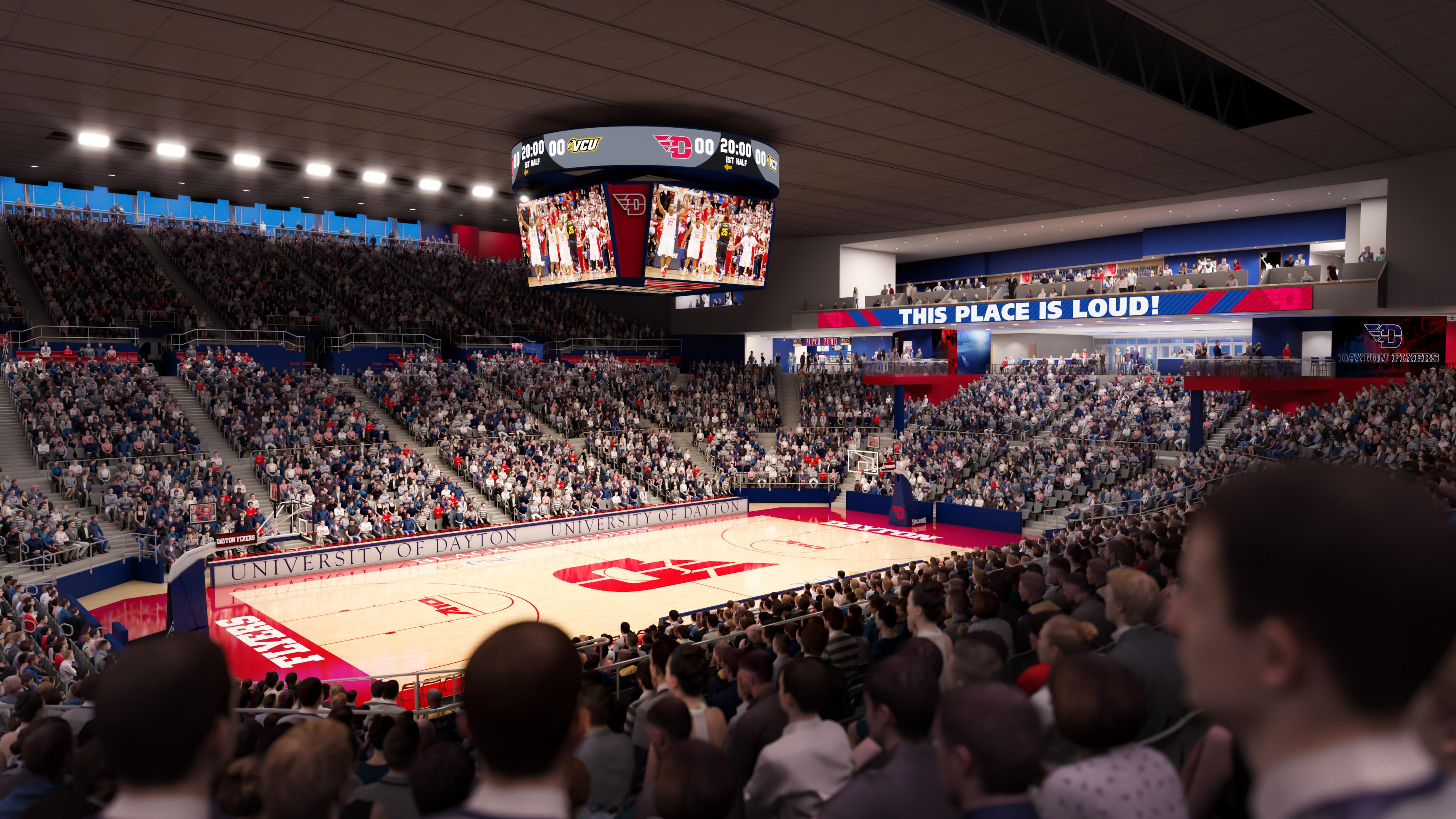 University of Dayton unveils $72 million transformation project to UD Arena (Photos: University of Dayton)