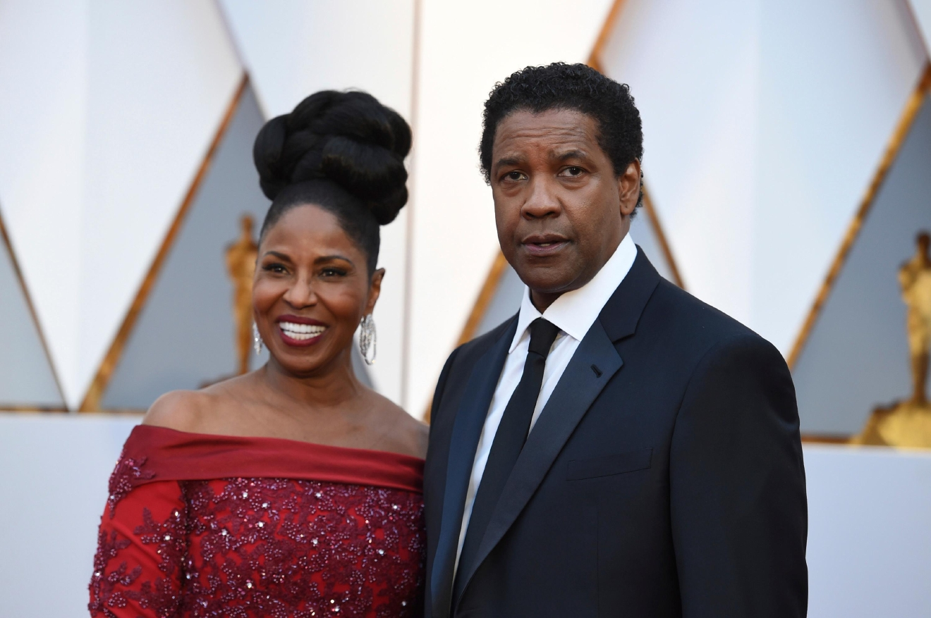 Pauletta Washington, left, and Denzel Washington arrive at the Oscars on Sunday, Feb. 26, 2017, at the Dolby Theatre in Los Angeles. (Photo by Jordan Strauss/Invision/AP)