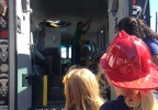 The Kids on Big Rigs – Special Needs Version event was held in Reno on Saturday, Sept. 24, 2016. (Sinclair Broadcast Group)