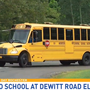 DeWitt Road Elementary welcomes students back to school