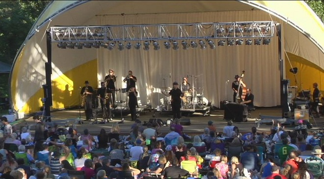 Music on the Halfshell concert in 2016. (File/SBG)