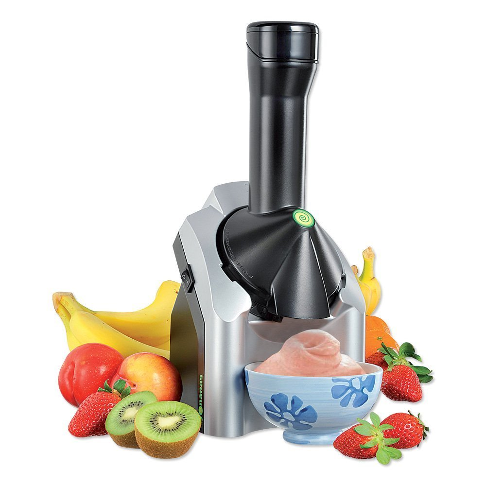 Yonanas Frozen Healthy Dessert Maker – 100% Fruit Soft-Serve Maker, $38.99 on Amazon Prime (Image courtesy of Amazon).
