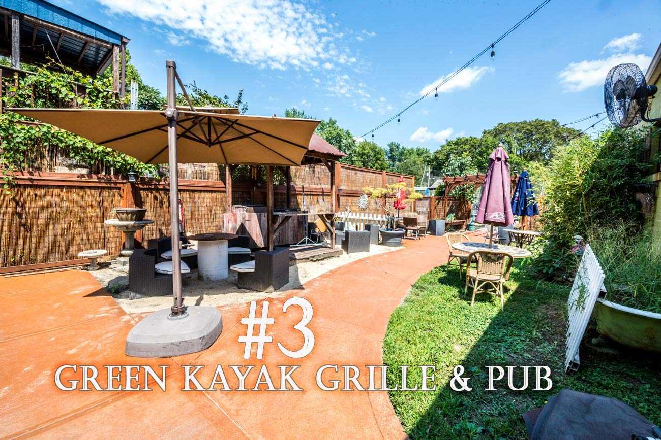 The Green Kayak Grille & Pub sits along the shores of the Ohio River in New Richmond. There you'll find great food and drink{ }while boats and barges drift by. ADDRESS: 200 Front Street, New Richmond, OH (45157) / Image: Catherine Viox // Published: 11.28.20