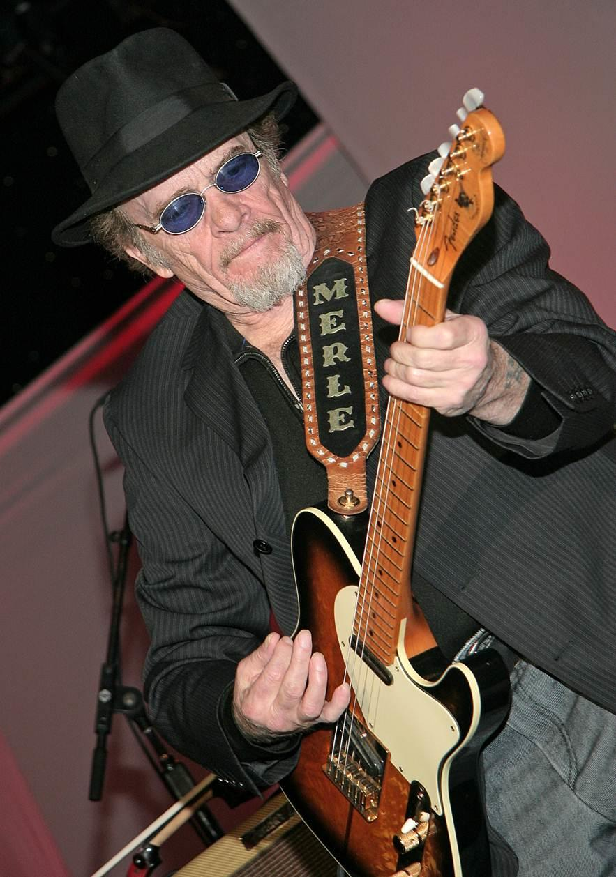 Merle Haggard is seen in a photo provided Wednesday, April 6, 2016, by Buck Owens Production Co. Music legend Haggard died Wednesday at the age of 79.
