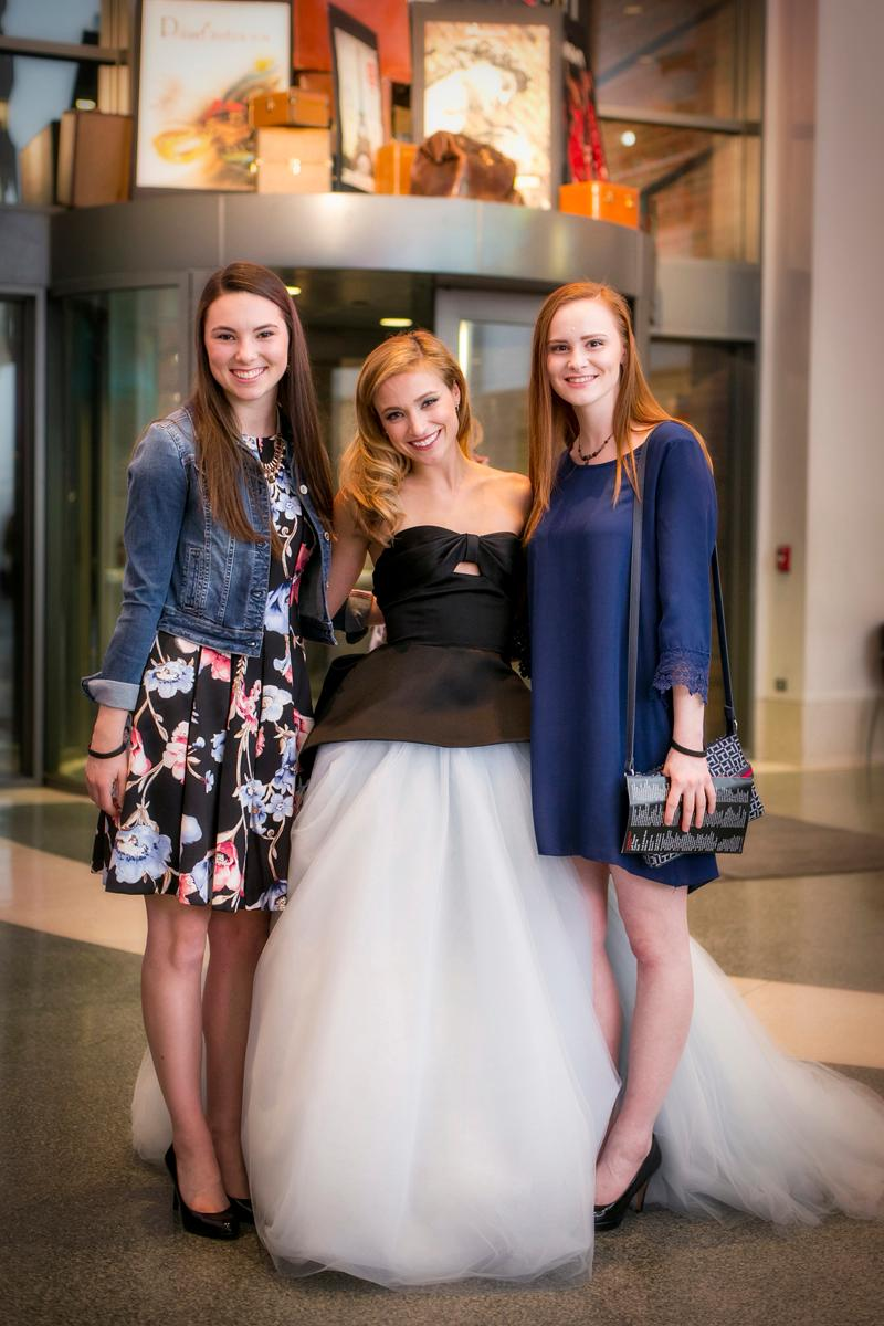 Bridget Keenan, Christy Altomare and Katie Frieden / Image: Mike Bresnen Photography