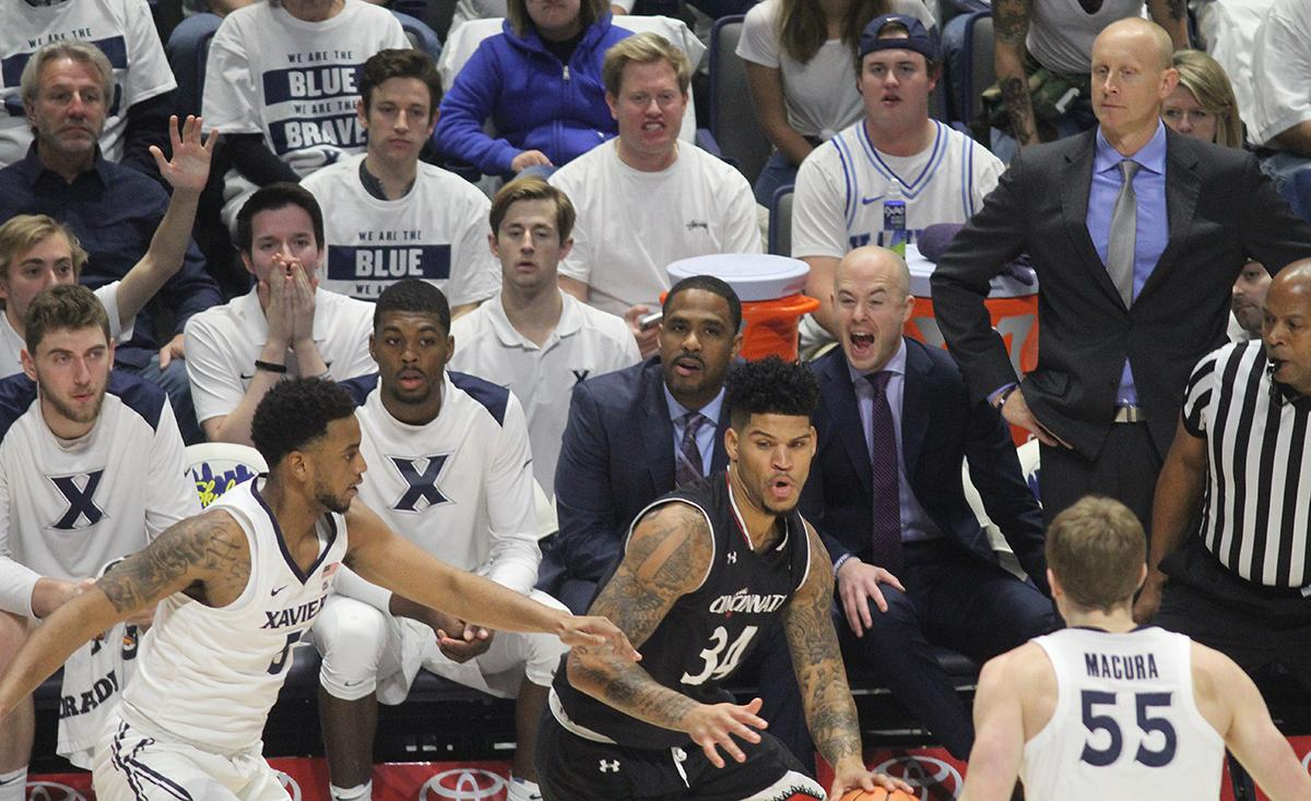 Xavier defeated Cincinnati 89-76 in the 85th Crosstown Shootout at Cintas Center on December 2, 2017. (WKRC/Tony Tribble)