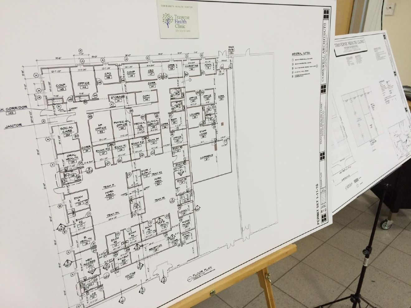 Traverse health clinic in traverse city is getting closer to opening