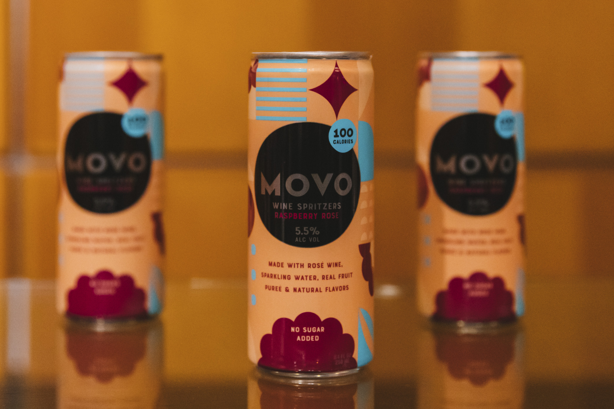 Movo Wine Spritzers. We snuck in a little preview of the beer, wine and spirits offerings for the 2020 Seattle Mariners season at T-Mobile Park! Home Opener is March 26 at 1:10 p.m. agains the Rangers. Go M's! (Image: Sunita Martini / Seattle Refined)