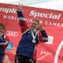 Manitowoc Special Olympian returns with silver medal, community celebrates