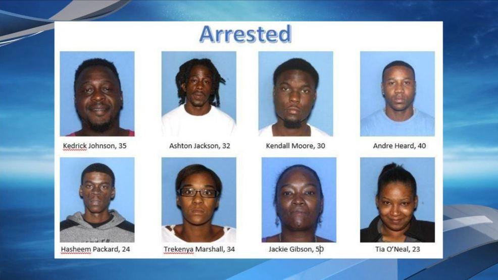 8 arrested in Jefferson County drug bust   KATV