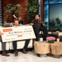 Paralyzed New Orleans Saints super fan from Utah gives update to Ellen, meets Drew Brees