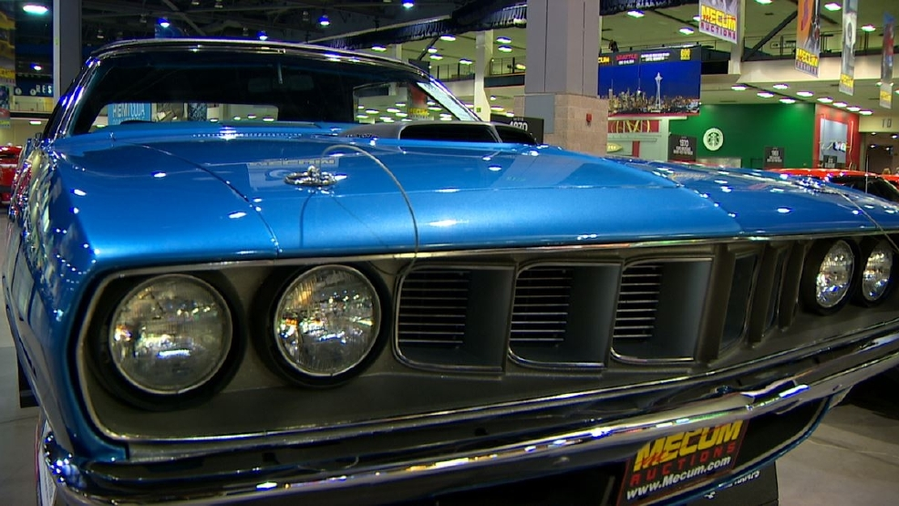 Million-dollar cars up for auction this weekend in Seattle | KOMO