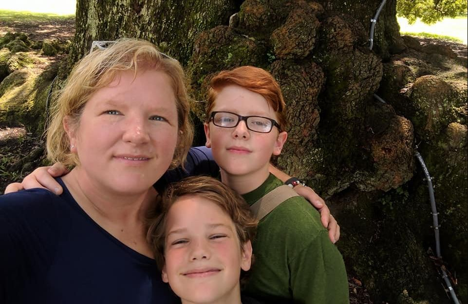 Ten-year-old William Edward Gibbs and his 13-year-old brother O'Brien died in the wreck Tuesday on Mills Gap Road. The boys' mother, Jo, remained hospitalized for a spleen injury. (Photo credit: Gibbs family)