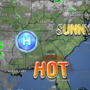 Heat index back in the triple digits today