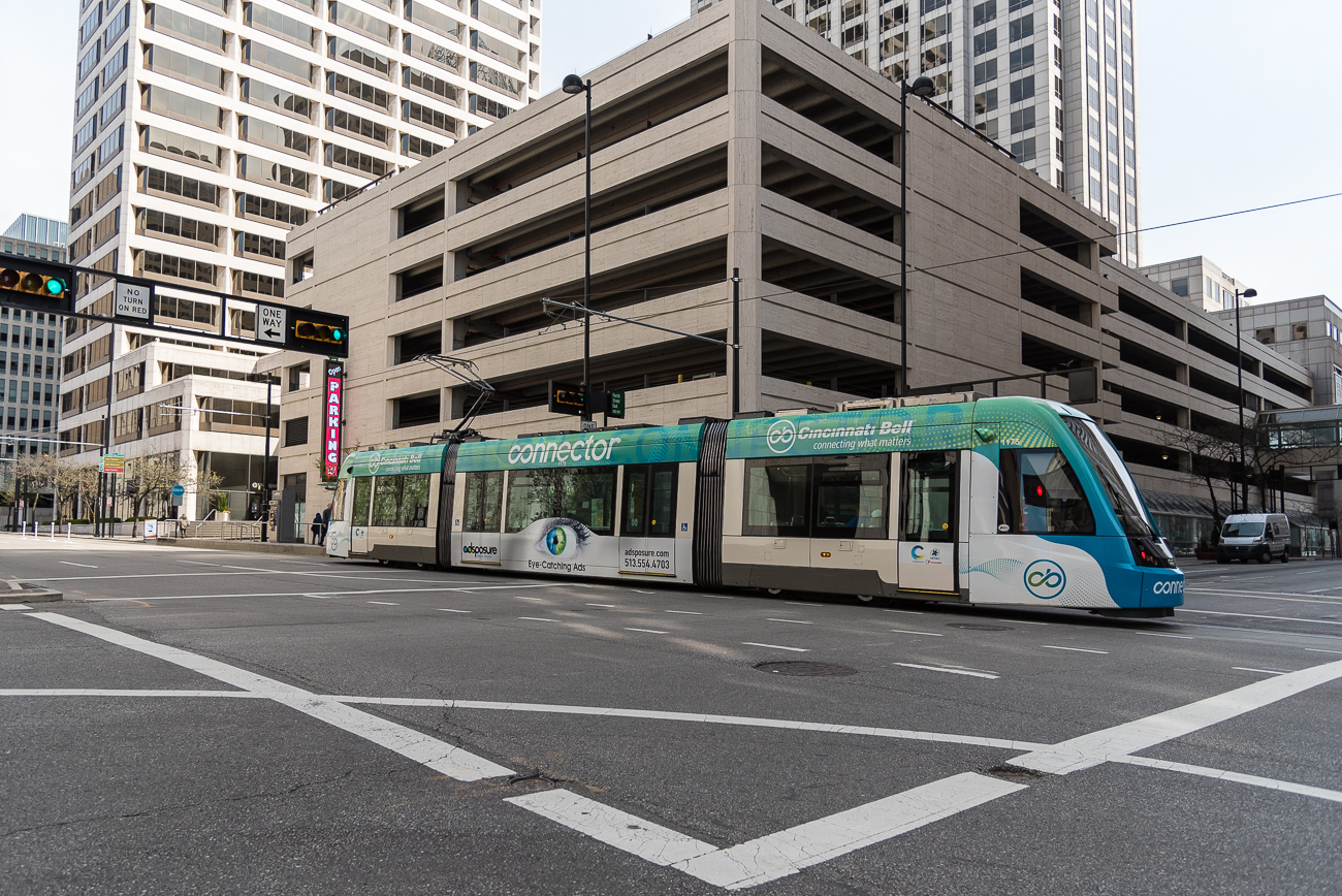 4th Street has a streetcar station / ADDRESS: corner of 4th and Main Streets / Image: Phil Armstrong, Cincinnati Refined // Published: 4.23.18