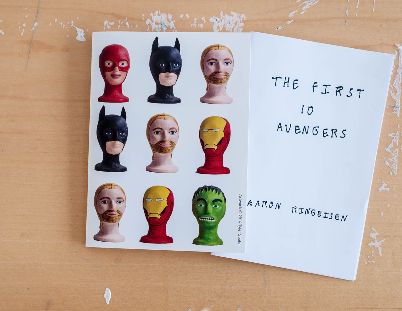 """The First 10 Avengers"" booklet by Aaron Ringeisen{ }/ Image: Kellie Coleman // Published: 1.30.20"