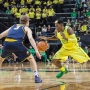 Brooks goes out with injury in Oregon's win over Cal
