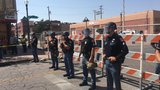 Duranguito demolition begins; police in riot gear, protesters in chains