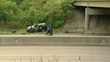 2 injured, 1 taken to hospital in crash on I-71