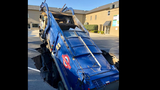 Cookeville garbage truck swallowed by collapse in pavement