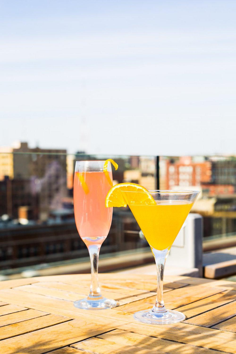21c Cocktail Terrace -- located in Downtown Cincinnati at 609 Walnut Street (45202). / Image courtesy of 21c Museum Hotel