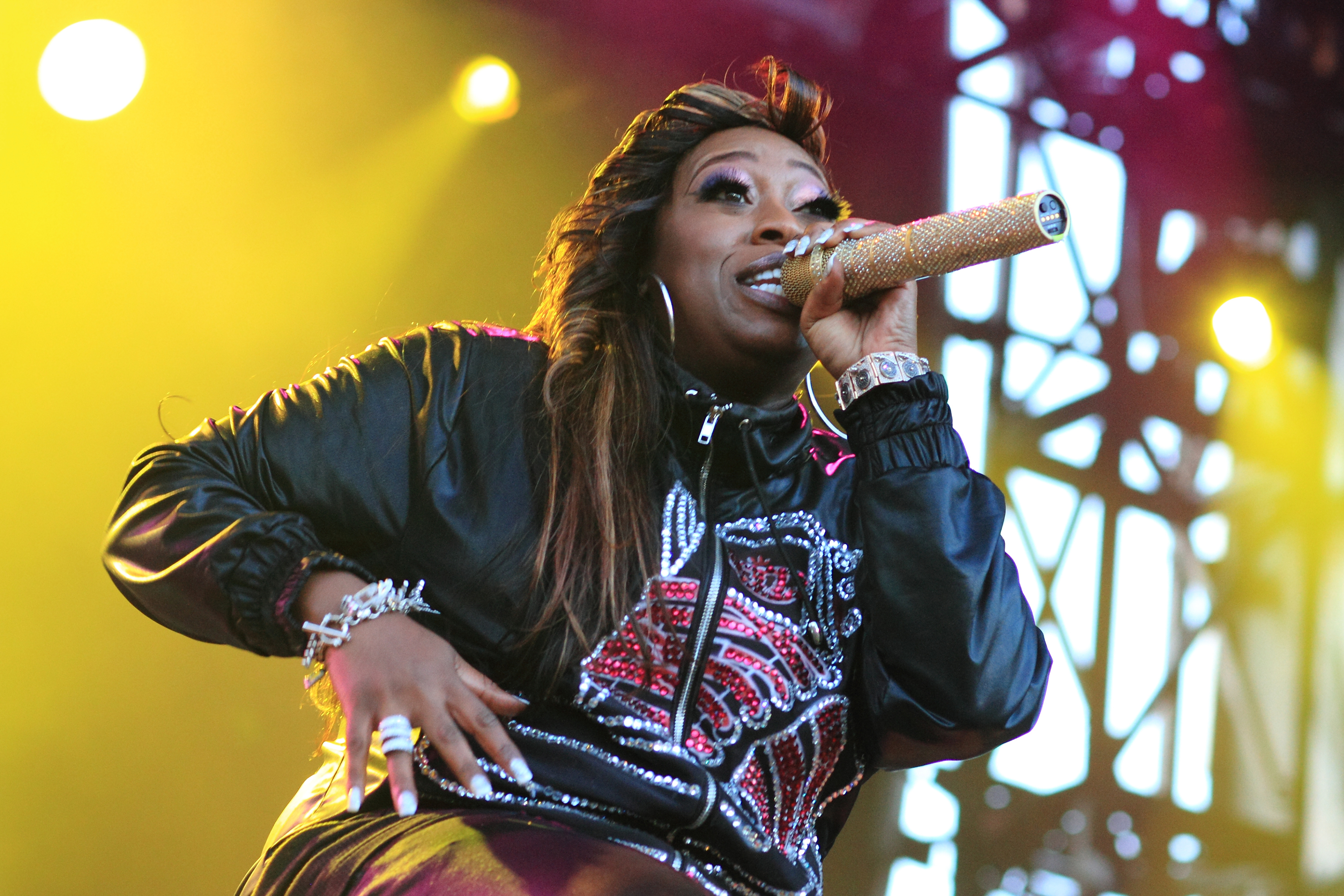 Missy Elliot Parklife Music Festival at Moore Park Sydney, Australia - 03.10.10  Featuring: Missy Elliot Where: Australia When: 03 Oct 2010 Credit: WENN