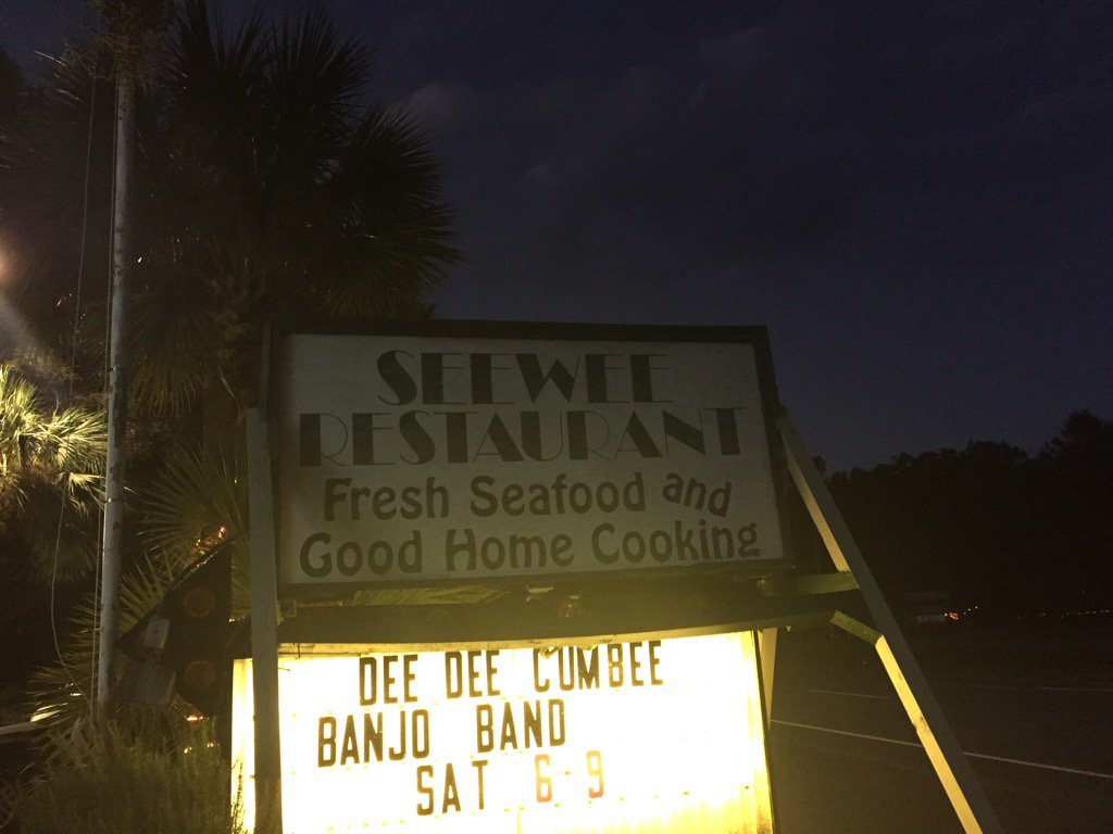 Here we are, time for a little #DinnerOnDave at See Wee in Awendaw! (Dave Williams/WCIV)