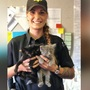 Fresno Humane Animal Services officer rescues litter of kittens