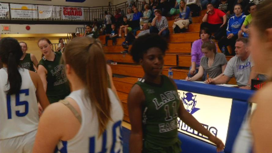 Brevard and East Henderson shake hands after the game (WLOS Staff).jpg