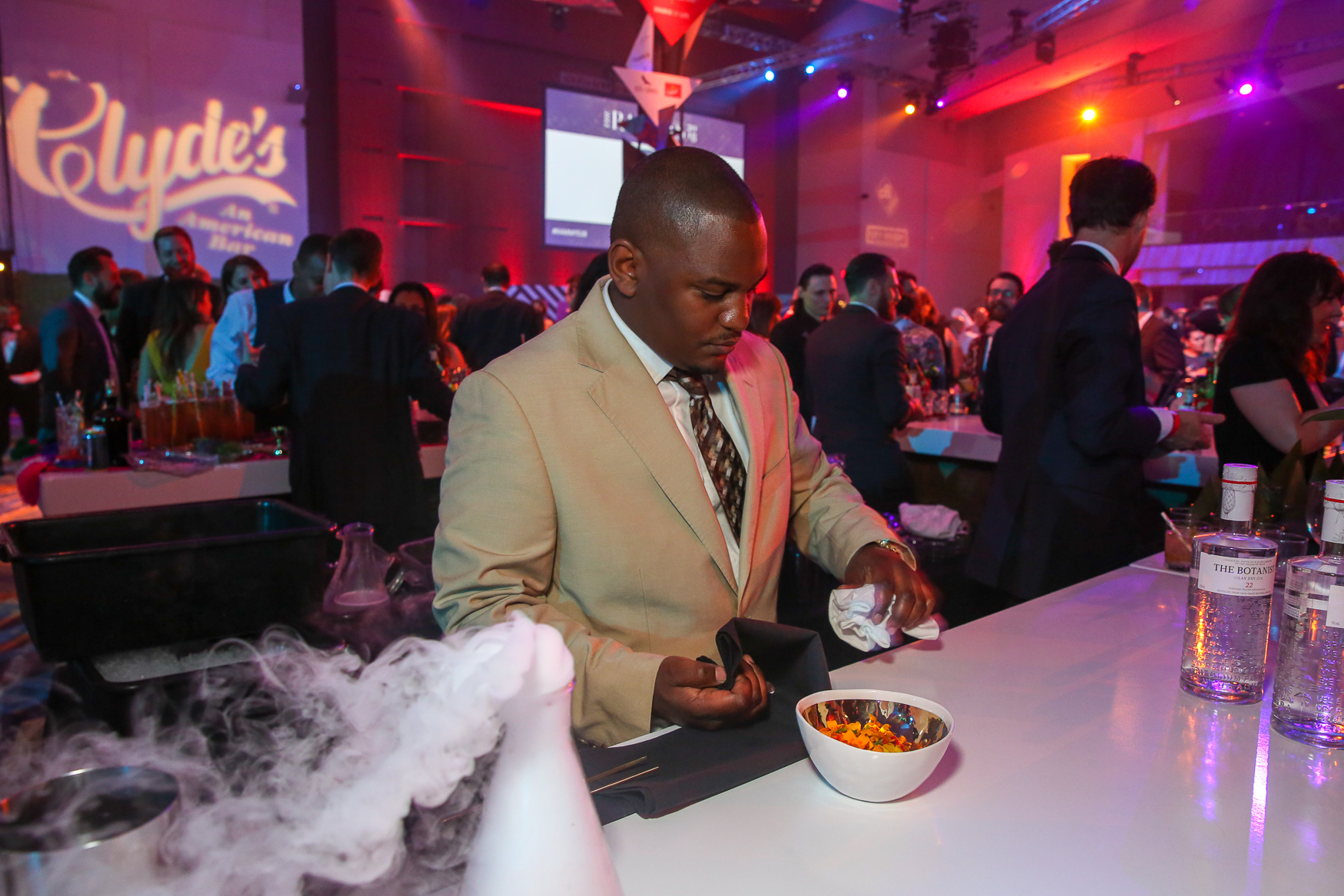 Hundreds of members of the food industry gathered at the Washington Convention Center for the 36th annual{&nbsp;}RAMMYs, which honor the best and brightest{&nbsp;}<strong>k</strong>itchen talent in the region. The evening included cocktails and an award ceremony, followed by dancing, global bites and plenty of chances to celebrate the best food in D.C. (Amanda Andrade-Rhoades/DC Refined)