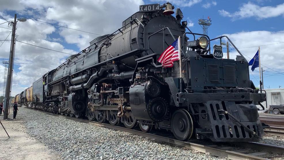 'Big Boy' locomotive to travel through Utah, again