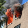 1 hospitalized, 25 units displaced after fire at Arlington apartment, officials say