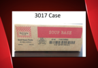 A picture of a 3017 case, one of the products recalled by Custom Culinary. (FSIS)   .PNG.PNG
