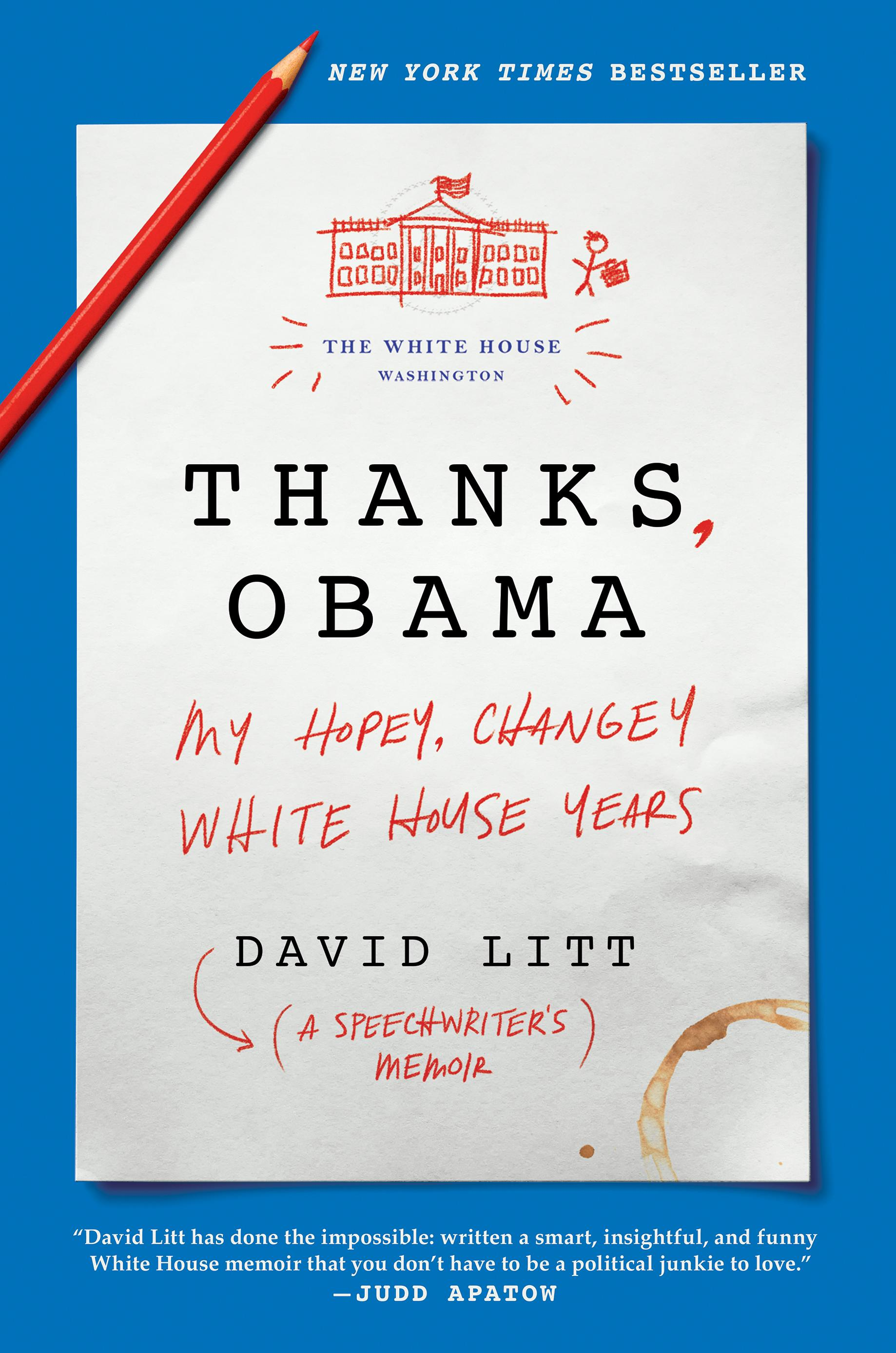 You know in D.C. when there's a new book out involving Obama, it's headed straight to the top of the must-read lists. Especially when it's written by the man behind four White House Correspondents Dinner speeches. Oh, and did we mention the author was only 24 when he somehow found himself as the speechwriter for the President of the United States? (Image: Courtesy HarperCollins)