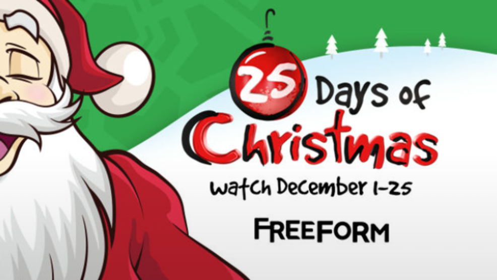 christmas movie lineup announced for freeform abc