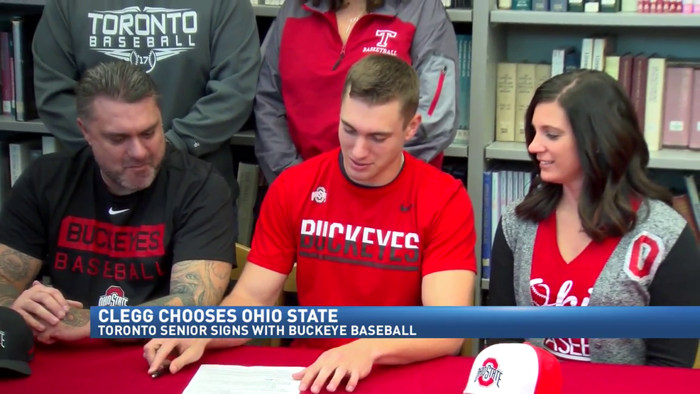 11.8.17 Video - Toronto's Nolan Clegg officially signs with Ohio State baseball program