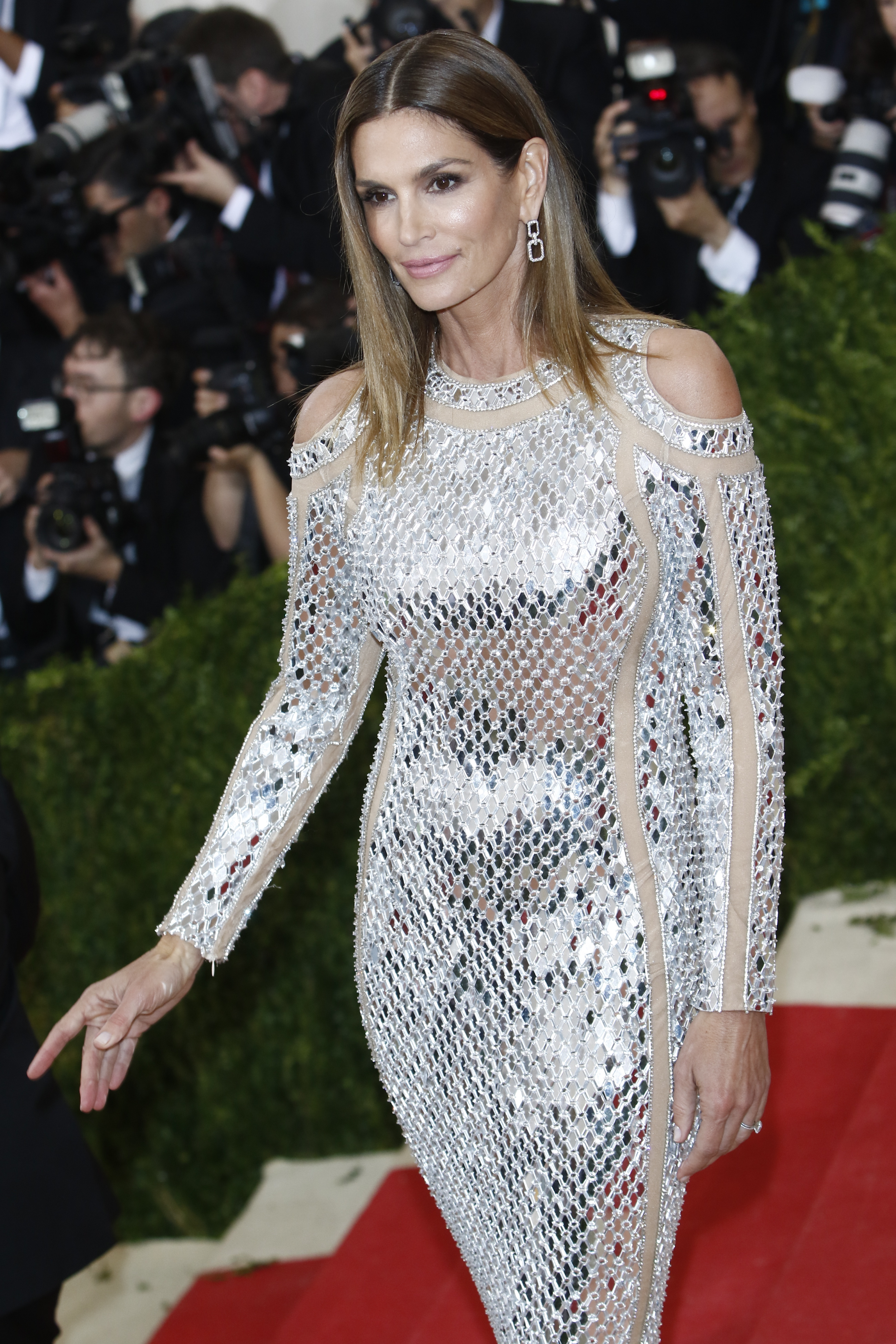 'Manus x Machina: Fashion In An Age Of Technology' Costume Institute Gala held at the Metropolitan Museum of Art  Featuring: Cindy Crawford Where: New York City, New York, United States When: 03 May 2016 Credit: WENN.com  **Not available for publication in Germany**