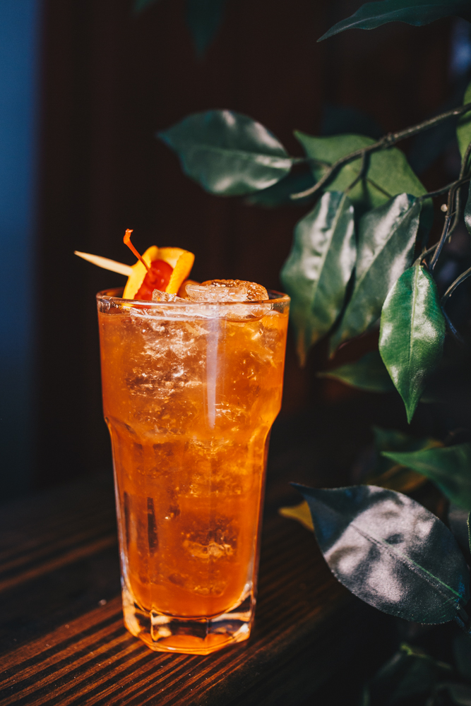 Grace Jones: Plantation Rum, orange bitters, walnut bitters, and simple syrup / Image: Catherine Viox // Published: 4.15.19