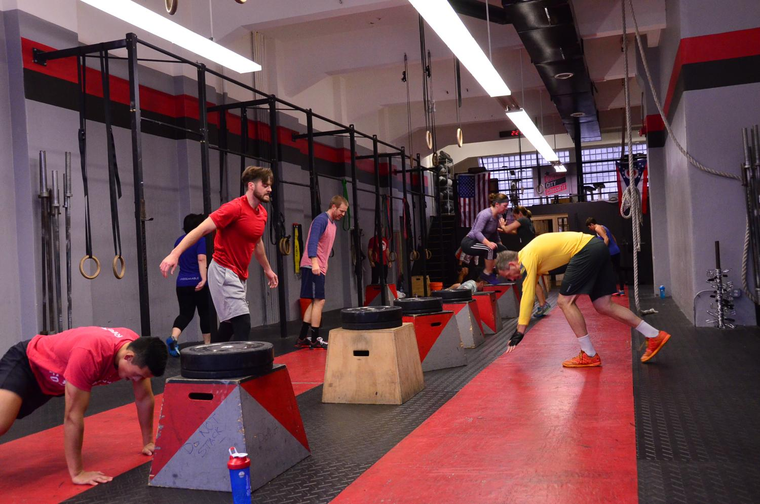 <p>CrossFit has a bit of it all: weight lifting, aerobic activity, calisthenics, and the best part—it's competitive. Hit up Queen City CrossFit to push your limit and become part of the CrossFit community in 2019. ADDRESS: 18 W 7th Street (45202) / Image: Leah Zipperstein // Published: 1.6.19</p>