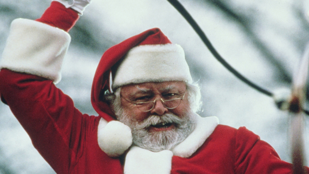 Richard Attenborough tops new poll of best movie Santas