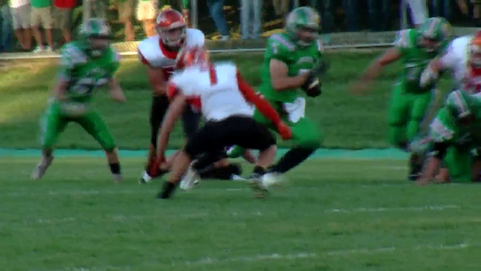 Week 2 Hancock County Chrysler Dodge Jeep Ram/WTOV9 Player of the Week, Caide Bunfill