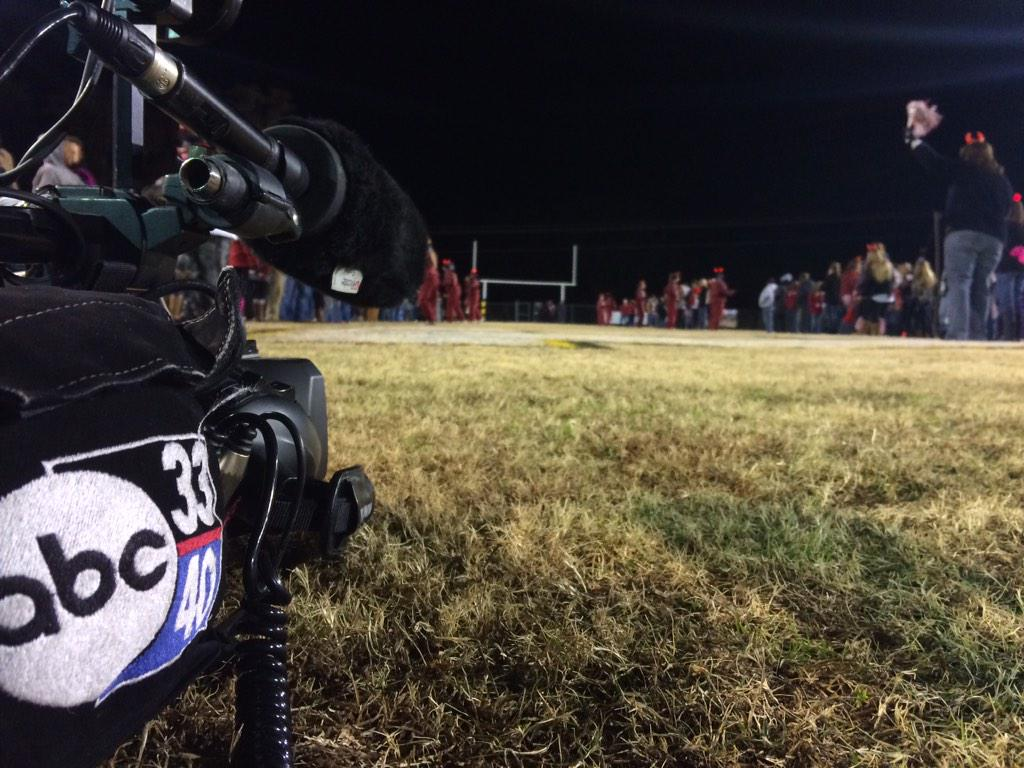 ABC 33/40 at Maplesville vs. Billingsley in the semifinals of the AHSAA Class 1A football playoffs, Friday, Nov. 28, 2014.