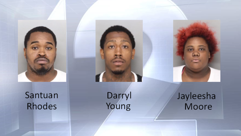Four arrested after theft at TJ Maxx | WKRC