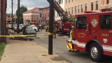 Four hurt in partial building collapse in Covington