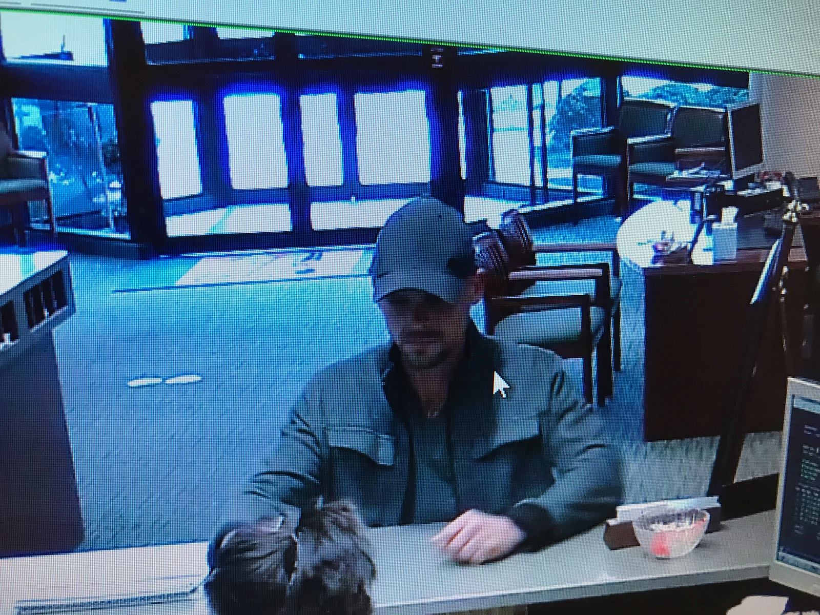 Barboursville police are searching for a man who they said robbed the First Sentry Bank on Mud River Road Saturday morning. (Barboursville Police Department)
