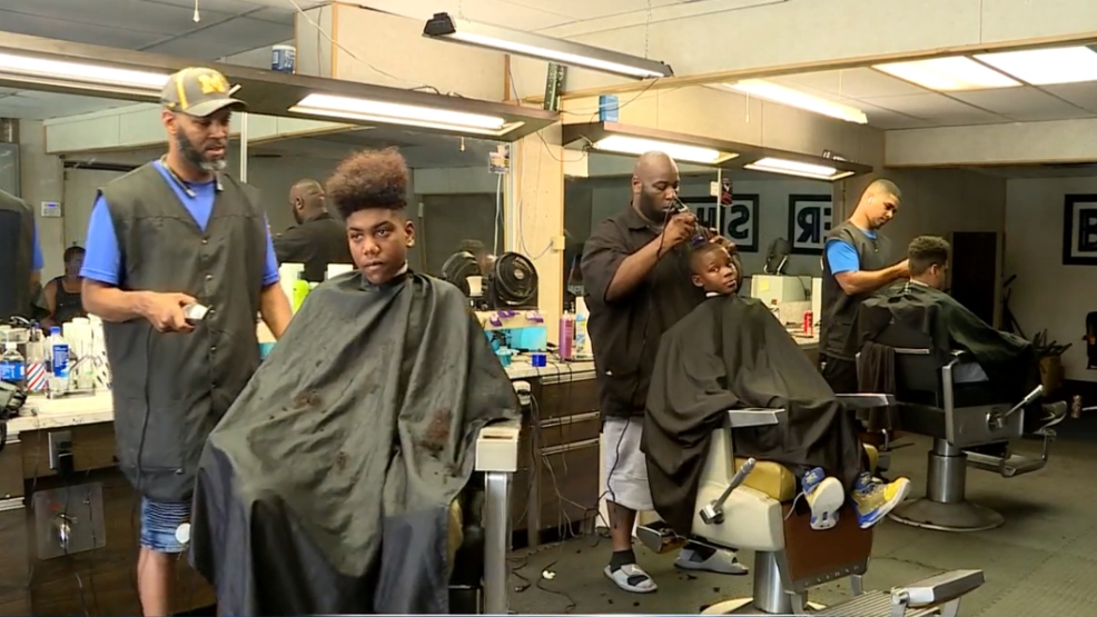 Niles Barber Shop Offers Free Haircuts To Help Get Kids Ready To Go