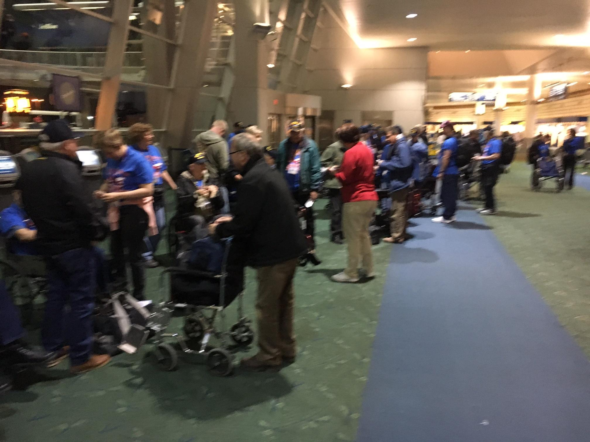 Three dozens veterans who served in World War II, Korea and Vietnam left Friday, May 12, on an Honor Flight to Washington, D.C. KVAL News anchor David Walker and photojournalist Loren Ruark are with them. Watch #LiveOnKVAL kval.com/live for live updates on the trip. (SBG)