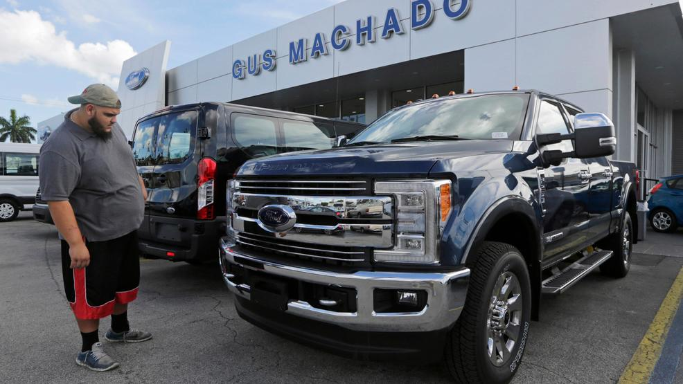 US auto sales fall even with strong sales of SUVs and trucks   KOMO