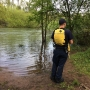 Rescue crews bring women to safety after they fell in Willamette River